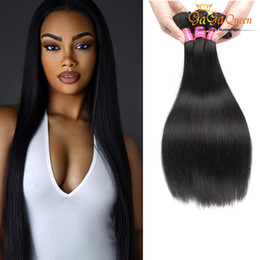 Wholesale Hair Grade Lengths - Wholesale Grade 7A Mink Hair Virgin Peruvian Hair Products Mix Length Pervian Straight Weaves Dyeable Peruvian Human Hair Bundle Deals Mocha