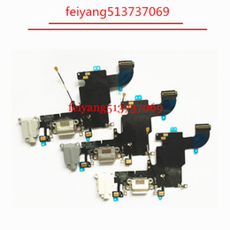 Wholesale Dock Connector For Iphone - 1pcs 100%working for iPhone 6s 4.7 charging port charger dock connector flex cable with Headphone Audio Jack