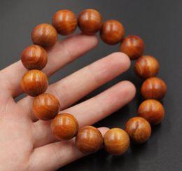 Wholesale Wood Beads 15mm - No wax, no add, handmade tibetan prayer beads bracelets raja kayu wood x 15mm