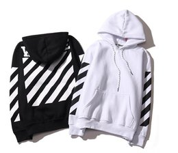 Wholesale Button Up Men - Tide Brand Off White Hoodies High Quality Kanye West Abloh Virgil Hoodie Sweatshirt Pullover Hoodies for Men and Women