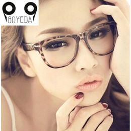 Wholesale Vintage Optic Glass - Wholesale- BOYEDA Fashion Eyeglasses Frames for Women retro Brand Eye Glasses Frames for Men Vintage Female Spectacle Frame Optics Eyewear