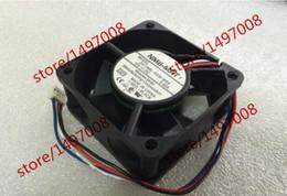Nmb 12v online-NMB 2410ML-04W-B66, G01 DC 12V 0.40A, 60x60x25mm 4 hilos 60mm Server Square Refrigerador