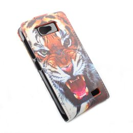 Wholesale Gionee Phones - 10 Pattern Painted Original Protective Case For Gionee GN700W & Fly IQ441 Leather Case Flip Cover Gionee GN700W Phone Cover Case