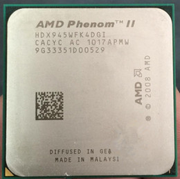 Wholesale Amd X4 Am2 - X4 945 Original for AMD Phenom II X4 945 Processor Quad-Core 3.0GHz 6MB L3 Cache Socket AM2+ AM3 scattered pieces cpu