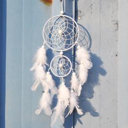 Canada Date Créative Inde Style Dreamcatcher Avec Plume Tenture Suspendue Ornement Artisanat Cadeau Salon Décoration En Gros B893Q Offre