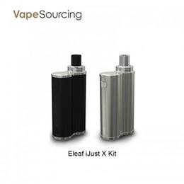 Wholesale One X S - Eleaf iJust X Kit with Top Fill 7ml Tank and 3000mAh battery 100% Original Unibody Design vs iJust s \ iJust one