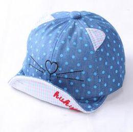 Wholesale Cartoon Baseball Hats - 2017 New cartoon pattern caps children Baseball cap flat along Parental hip hop Emoji pattern hats