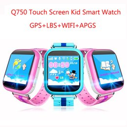 Wholesale Baby Moods - Cheap GPS smart watch Q750 baby watch with Wifi 1.54inch touch screen SOS Call
