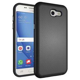 Wholesale Galaxy Hard Phone Cases - For Samsung J3 (2017) Case Hybrid Anti-skid Armor Hard Heavy Duty TPU Protection Phone Case Cover for Samsung Galaxy J3\J5\J7 (2017)