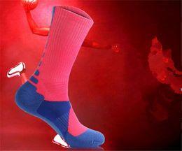 Wholesale Mens Elite Socks - fashion professional elite mens cushion sole basketball sock man sports socks M017
