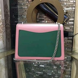 Wholesale Crystal Pink Heart - genuine cow leather high quality embroidery flowers crystal handbag shoulder & messenger bags for women min size evening bags