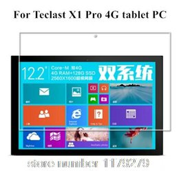 Wholesale Tablet Pc Screen Protector Film - Wholesale- 2PCS lot High transparent HD Clear Screen guard film Screen Protector for Teclast X1 Pro 4G tablet PC 12.2 inch