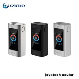 Wholesale Authentic Joyetech OCULAR w vape mod OCULAR C w box mod Touch Screen TC Box Mod APP Bluetooth Connecting