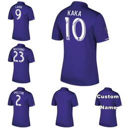 Wholesale Cities Xl - NEW ORLANDO CITY Home purple Soccer Jersey 2017 2018 KAKA SHEA LARIN NOCERINO away 17 18 Football Shirt men soccer uniform 2017