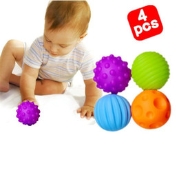 Wholesale Grasping Toy - soft balls grasping the ball tactile perception BB soft ball ball baby toys (6 Pack)