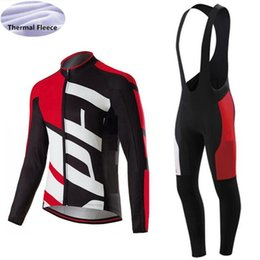 Wholesale custom team clothing - 2017 Winter thermal Fleece long sleeve jersey for men Road bike ride clothes Custom SL RBX Pro Team cycling wear Ropa Ciclismo