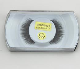 Wholesale Professional False Eyelashes Eye - Professional False Eyelashes 100% Real Mink Natural Thick False Fake Eyelashes Eye Lashes Makeup Extension Beauty Cosmetic Tools 28 Styles