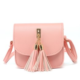 Wholesale Ladies Fringed Handbags - Wholesale-Bolsas Feminina PU Leather Mini Women Fringed Crossbody bag New Korean Tassel Messenger Shoulder Bag Sling Purse Lady Handbag