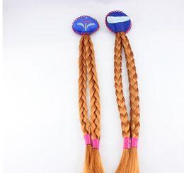 Wholesale Princess Enchanted - Fashion Children's Hair Snow Anna Spot Enchanted Princess Braid For Girls Headwear