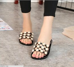 Wholesale Male Latex Rubber - Lovers Casual Sandals Fashion cork slippers Male Summer Man Woman beach slippers flip slip-resistant trend of Sandals Female