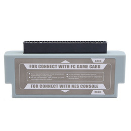 Wholesale Nes Converter - For FC To NES 60 Pin To 72 Pin Adapter Converter Convertor for NES console system DHL FEDEX FREE SHIPPING