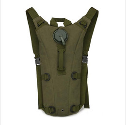 Wholesale Bicycle Water Backpack - 3L Portable Hydration Packs Camo Tactical Bike Bicycle Camel Water Bladder bag Assault Backpack Camping Hiking Pouch Water Bag