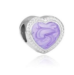 Argentina Se adapta a Pandora pulsera de plata esterlina brillo de perlas de oro del corazón de los encantos de los granos para diy estilo europeo de la cadena del encanto de la serpiente joyería de moda bricolaje supplier sterling silver pearl bracelet Suministro