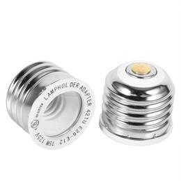 Wholesale Led Light Socket Adapter - High Quality Lamp Base E26 to E12 LED Light Lamp Bulb Adapter Converter for Bulb Lamp Holder Socket Change