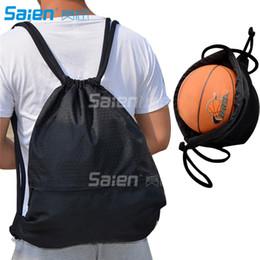 Wholesale Large Red Bowl - Esvan proof Gymbag Large Drawstring Backpack Gymsack Sackpack For Sport Traveling Basketball Yoga Running