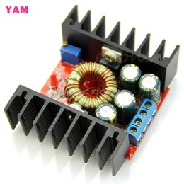 Wholesale High Power Buck Converter - Wholesale- Drop shipping DC-DC Buck Converter Step-down 7-32V 12A 100W High Power Board Low Ripple Module -Y121 Best Quality