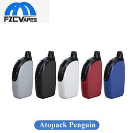 Wholesale Starter Kits Joyetech - Authentic Joyetech Atopack Penguin Kit 2ml TPD 8.8ml 2000mAh Lipo Vape E Cigarette Starter Kit 100% Original