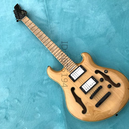 Wholesale Custom Board - Hot!!! Maple single board hollow electric guitar, well done, American hardware, free shipping, custom electric guitar, electric bass