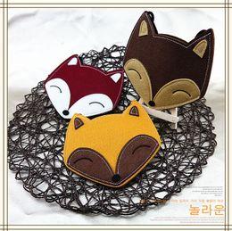 Wholesale Cartoon Fox Satchel Bags - Fashion Cartoon Baby Girls Bags New Korean Fox Children Messenger Bag Cute Casual Kids Shoulder Bags Princess Girl Satchel Bag A7959