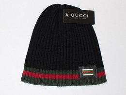 Wholesale Unisex Hats Sale - 2017 Hot Sales Knitting Hat Winter Hat For Man Skullies Beanies Warm Cap Man Beanie Hat High Quality Headgear Drop Shipping