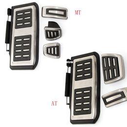 2019 accessoires pour skoda Accessoires pour voiture Couvre-pédale en acier inoxydable pour VW GOLF 7 GTi MK7 Lamando POLO A05 Passat B8 Skoda Rapid Octavia 5E 5F A7 2014+ promotion accessoires pour skoda