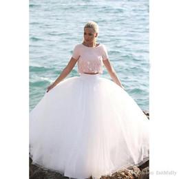 Wholesale Custom Made Crochet - 2017 Hot Petticoats Bridal Accessories Ball Gown Full Crinoline Wedding Skirts Accessories Petticoats Crinoline Custom Made