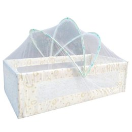 Wholesale Mesh Crib - Wholesale- High quality baby Crib Mosquito Net Portable Infant baby bedding Boys girls Foldable Mosquito Netting Mesh Crib Netting D3-26B