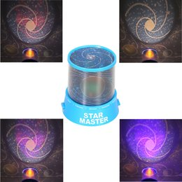 Wholesale Led Light Star Projector Lover - Wholesale- New Romantic LED Universe atmosphere Star Sky Projector Night Lamp Kids Gift Planet starry night Light Kids Bed Lamp lover gift