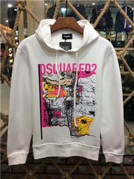 Wholesale Casual Life - 2017 New DSQ Arrival Fashion High Quality Casual Letters mountain life printed Men Hoodies Design Hip Hop Sweatshirts DS104