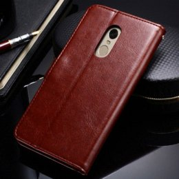 Wholesale Xiaomi Flip Cover - Case For Xiaomi Redmi Note 4 Wallet Flip Style Broncos PU Leather Cover With Card Holders For Xioami Note4 4G Phone Bag Coque