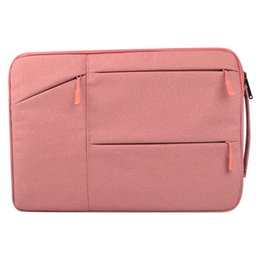 Wholesale Women Laptop Briefcase - Polyeste Laptop bag fit for Macbook Air 11 12 13 14 15 15.6 inch Handbag Computer Bag Sleeve Tablet Bags Notebook Case for Woman Men