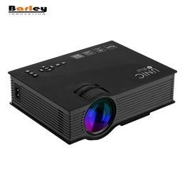 Wholesale Ir Home Theater - Wholesale-UNIC UC46 Multimedia 1200 Lumens WiFi Wireless Portable LCD LED Home Theater Projector Support 1080P With IR USB SD HDMI VGA