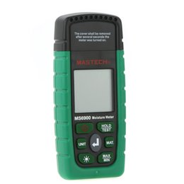Wholesale Mastech Digital Meter - Wholesale- Mastech MS6900 Digital Wood Moisture Temperature Meter Humidity Tester
