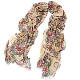 Wholesale Silk Charm Scarves - Wholesale-1 pc Exquisite Women charming Long Soft Chiffon Scarf Wrap Large Silk Winter Shawl Stole Scarf summer style