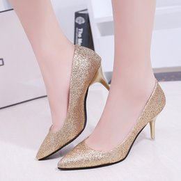 Wholesale sexy vogue wedding dress - New Vogue Bling Giltter Platform Ultra High Heels Woman Shoes Nightclub Sexy Pumps Party Dress Shoes Black Pink