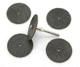 Wholesale Cutting Wheel For Metal - 25Pcs set Metal Cutting Disc Grinder for Dremel Rotary Circular Tool Saw blade Wheel Cutting Disc Sandpaper Grinding Wheel