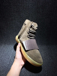 Wholesale Cheap Black Casual Shoes Men - Boost 750 Kanye West Shoes brown Outdoors Sneaker Sneakeheads Shoe Basketball Shoes Sneakers Cheap 750 Boost Men Sports Casual Boosts