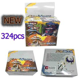 adult trade with best reviews - Sun&Moon Poke Trading Cards Cartoon Anime Poke Go Card for Party Games Children Adult Board Game Toys 324pcs set