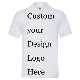 Wholesale Green Printing Services - DIY Own logo printing Personal Custom printed t shirts customized printing poloshirts mens t-shirts embroidery silk screen print service