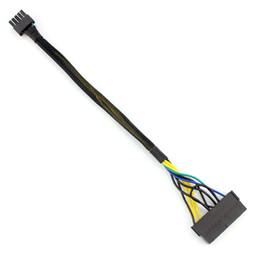 Pin lenovo on-line-1 PCS 30 cm 24 P para 10 P, cabo de Alimentação de 10 pinos Cabo Adaptador de 10 pinos de 24 pinos para 10 pinos para Lenovo Motherboard F20811 / F20813